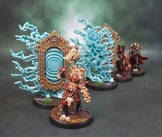Age of Sigmar Malign Sorcery Endless Spells Umbral Spellportal