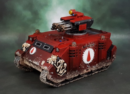 Flesh Tearers Space Marines Razorback AFV