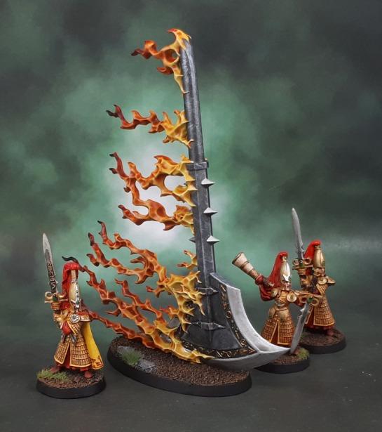 Age of Sigmar Malign Sorcery Endless Spells Aethervoid Pendulum