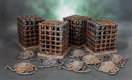 Wizkids Deep Cuts Miniatures Cage & Chains