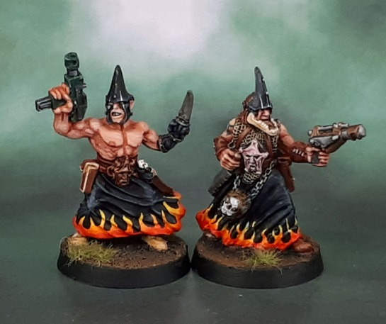 Chaos Cultists. Paul Muller, 1999