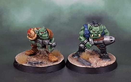Oldhammer 40k, Rogue Trader 44202/3 Space Orks (1988), Kev Adams