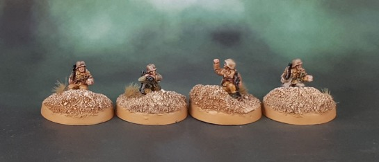 15mm Flames of War DAK Afrika Korps Status Markers - Battlefront Miniatures