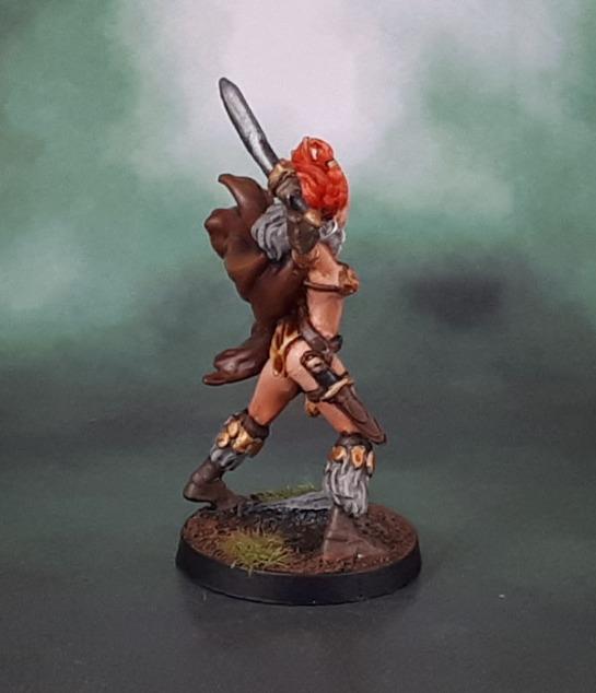 Conan Kickstarter. Vanir Valkyrie, Red Sonja
