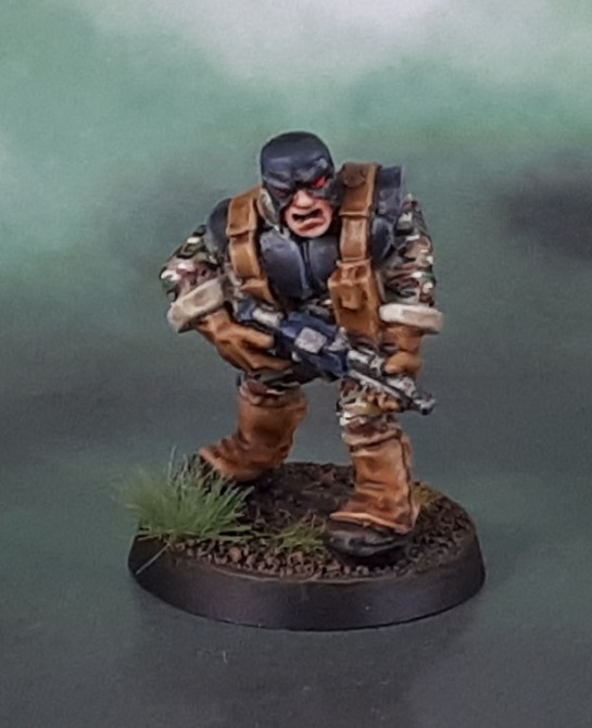 "RT7 Rogue Trader Mercenaries ""Sarge"" Rockhard,1987, Oldhammer"