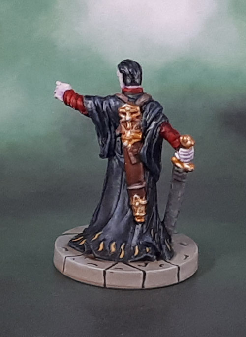 Castle Ravenloft Vampire Count Strahd, Dungeons and Dragons D&D miniatures.