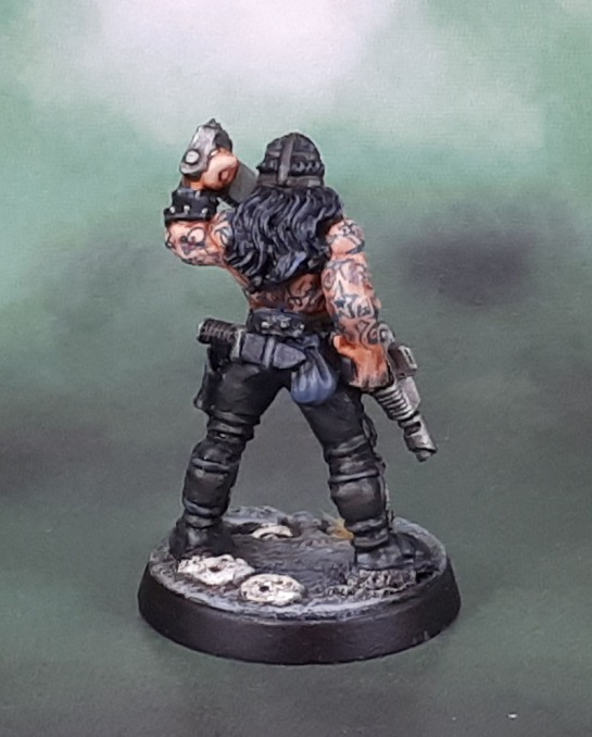 Grenadier Miniatures Future Warriors: Future Savage Humungus (Mark Copplestone)