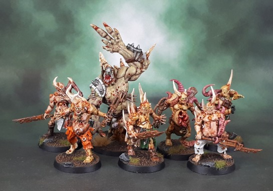 Nurgle Poxwalkers, Zombice Green Horde Orc Abomination