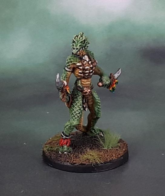 Reaper 60090: Lizardman Shaman, Julie Guthrie