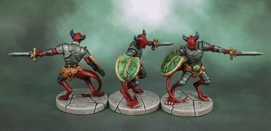 D&D Wrath of Ashardalon - Legion Devils