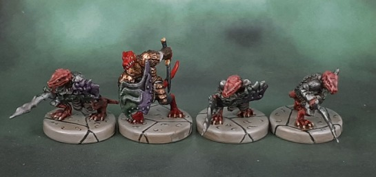 D&D Wrath of Ashardalon, Meerak, Kobold Dragonlord & Kobold Dragonshields