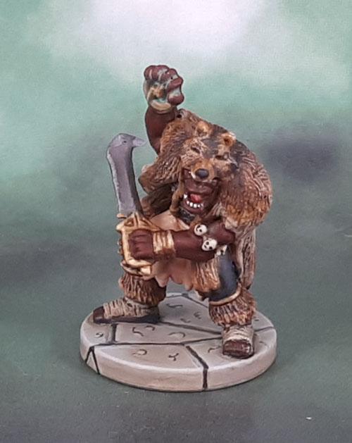D&D Wrath of Ashardalon - Kraash, Orc Storm Shaman