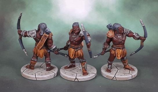 D&D Wrath of Ashardalon - Orc Archers