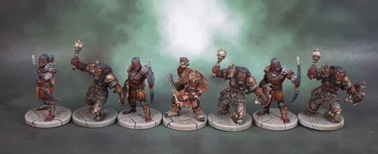 D&D Wrath of Ashardalon - Kraash, Orc Storm Shaman, Orc Archers, Orc Smashers