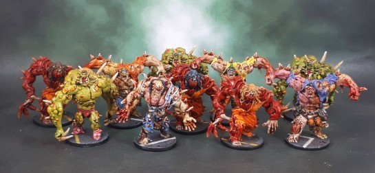Zombicide Abominations, Toxic Abominations, Berserker Abominations