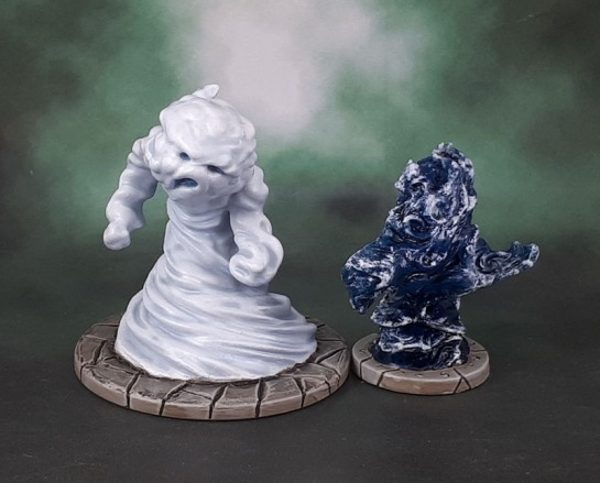 Dungeons and Dragons Miniatures Temple of Elemental Evil - Air and Water Elementals