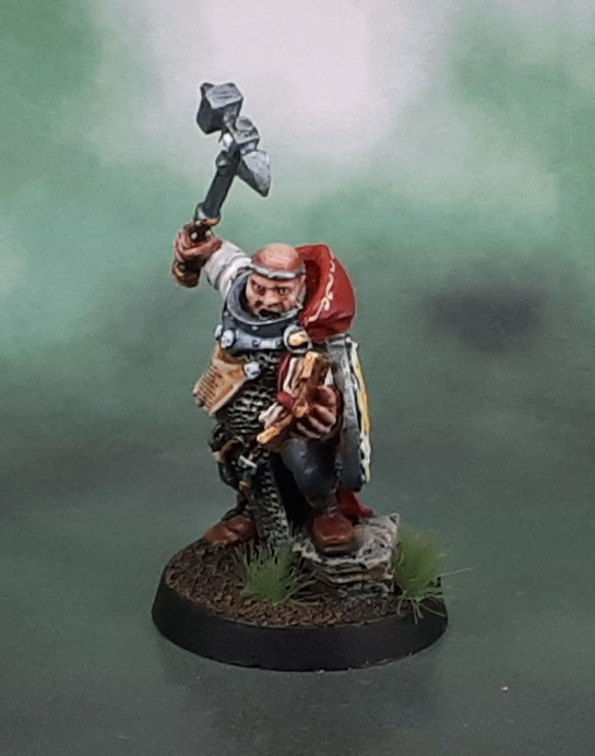 Citadel Empire Warrior-Priest of Sigmar w/hand weapon & shield