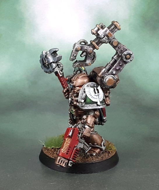 Dark Angels Techmarine, 2nd Edition, Jes Goodwin