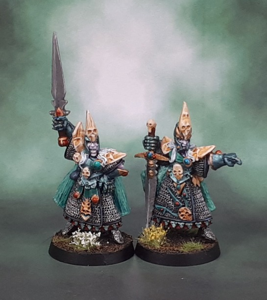 Dark Elf Champions - WHFB 4th Edition, 1995
