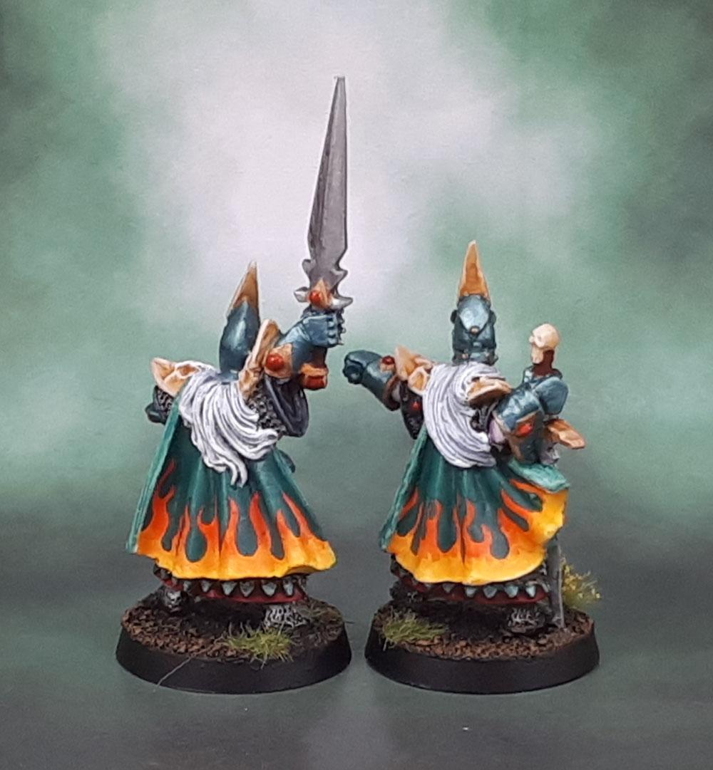 WARHAMMER FANTASY 1990s Dark Elves Army CLASSIC models