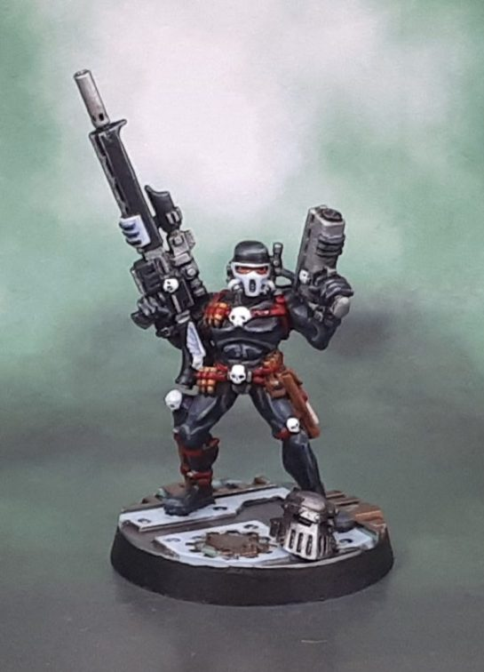 Officio Assassinorum: Vindicare Assassin 1995-6, Jes Goodwin