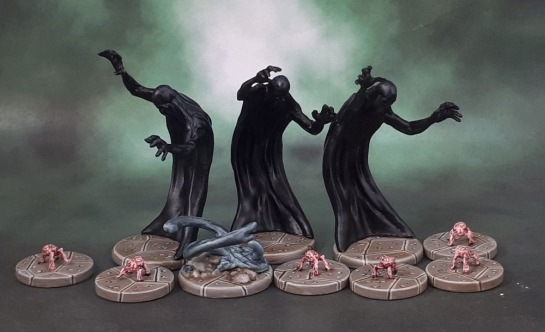 D&D Dungeon of the Mad Mage - Shadows, Gray Ooze, Intellect Devourers