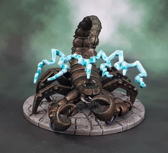 D&D Dungeon of the Mad Mage - Scaladar, Mechanical Scorpion