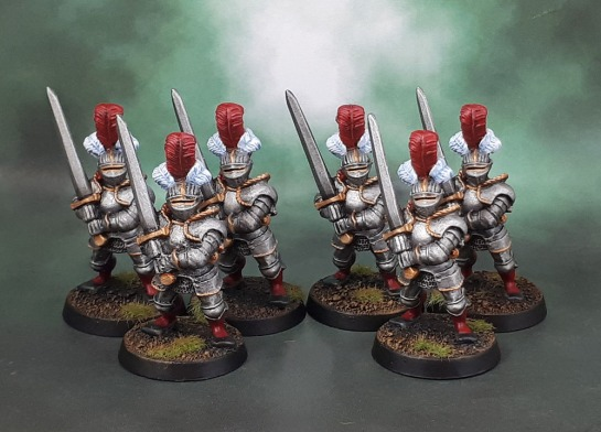 Reiksgard Foot Knights with Greatswords