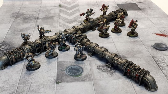 Sector Mechanicus Thermic Plasma Conduits & Rogue Trader Pipeworks