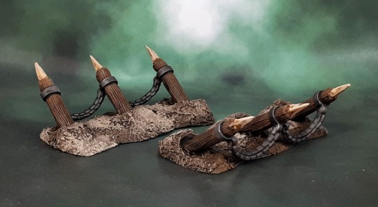"Mantic Terrain Crate Battlefield ""Pikes"""