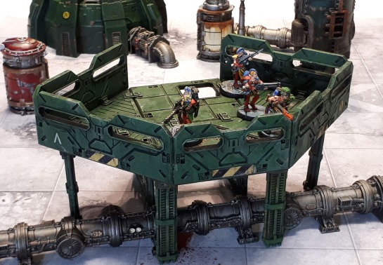 Mantic Terrain Crate BattleZones Lookout/Observation Platform