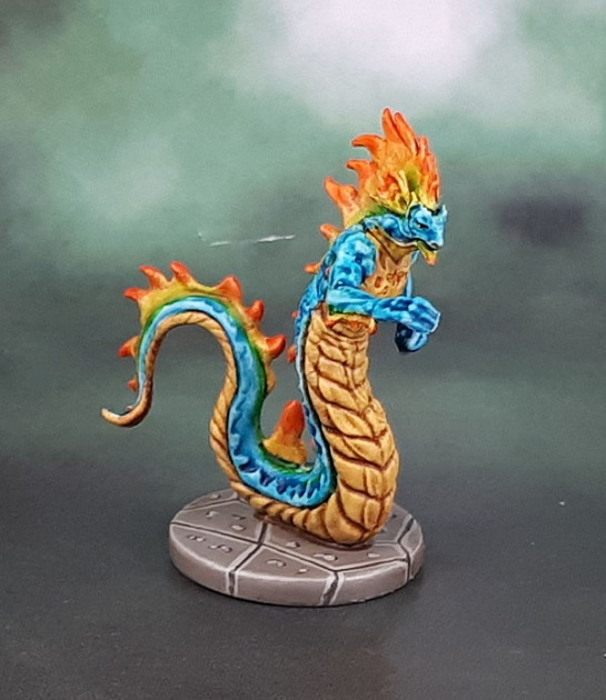 Dungeons and Dragons D&D Temple of Elemental Evil - Salamander