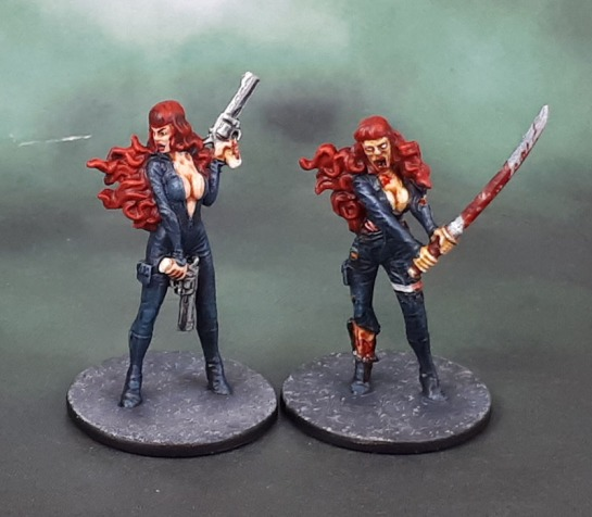 "Zombicide ""Elsa"" (Not-Black Widow)"