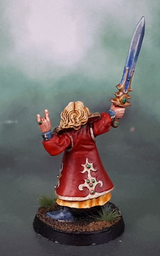 High Elf Mage With Sword 021003901, Gary Morley, 1998