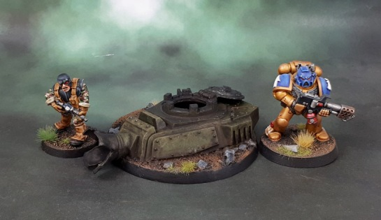 "40k ""Hero Base"" Objective Marker"