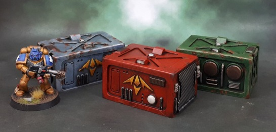 Scotia Grendel 10101 Resin Sci-Fi Crates