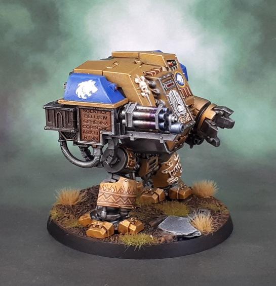 Celestial Lions Space Marine Castaferrum Dreadnought