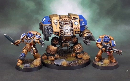 Celestial Lions Space Marine Castaferrum Dreadnought