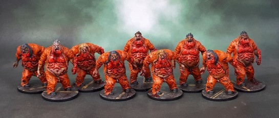 Zombicide Season 2: Prison Outbreak - Berserker Zombie Fatties