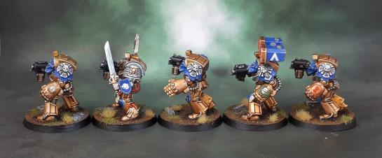 Celestial Lions Space Marine Terminator Squad