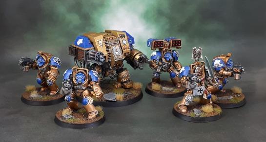 Celestial Lions Space Marine Terminator Squad, Castaferrum Dreadnought
