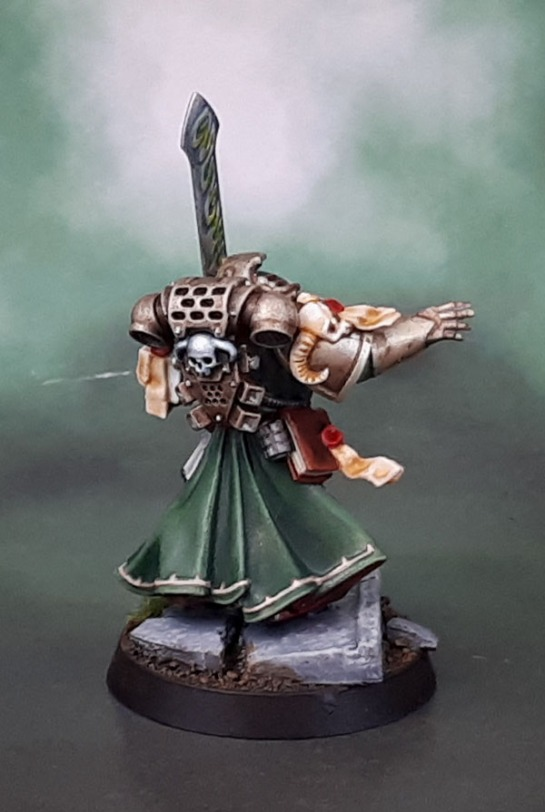 Dark Angels Librarian Turmiel, Dark Vengeance