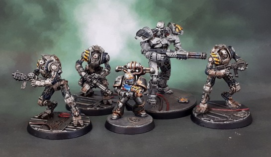 Warzone Resurrection: Cybertronic Enhanced Machinators, Atilla MKI Exterminator, Prodos Games, Iron Warrior
