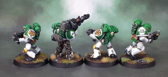 Mentor Legion Tactical Marines, Mentors