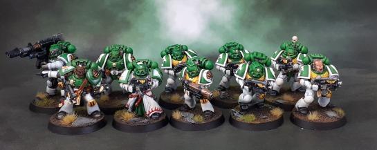 Mentor Legion Tactical Squad, Mentors