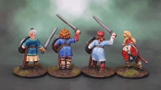 Shieldmaiden Warriors with Swords, Bad Squiddo Games