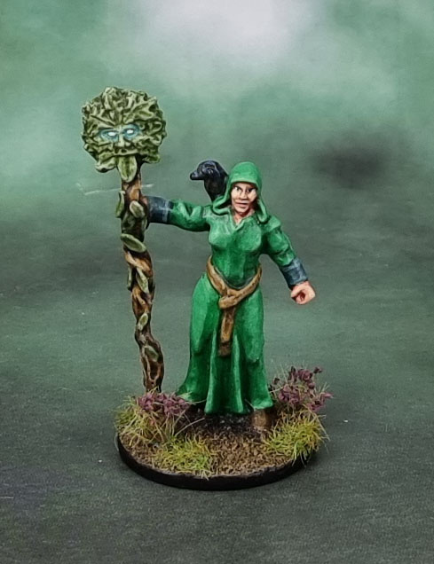 Morgana, Forest Healer. Bad Squiddo Games