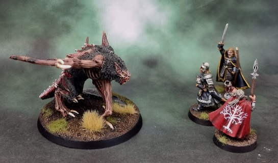 Citadel Varghulf Courtier, Gondor Heroes