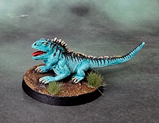 Bad Squiddo Games - Giant Iguana