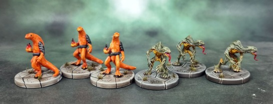 D&D Dungeons and Dragons Tomb of Annihilation – Firenewts and Yuan-ti Broodguard